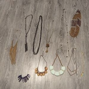 Lot of 11 Necklaces